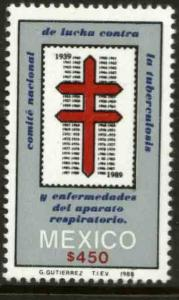 MEXICO 1631 50th Anniv of the Nat Tuberculosis Foundation NH