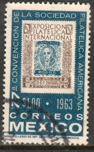 MEXICO 937, Convention of the American Philatelic Soc USED. F-VF. (1143)