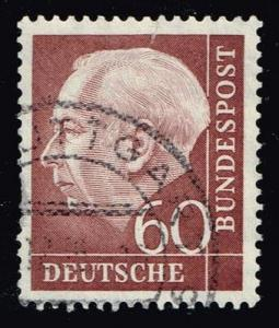 Germany #715 Theodor Heuss; used (0.60)