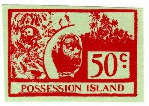 (I.B) Cinderella Collection : Possession Island 50c