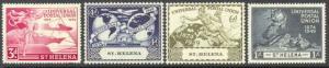 St. Helena 132 to 135, 190 & 191 & 192 to 194 complete sets - mnh Elizabeth II