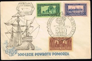 POLAND STAMP FDC COVER COLLECTION LOT  #5