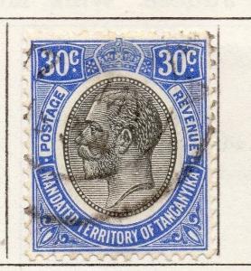 Tanganyika 1927 Early Issue Fine Used 30c. 269602