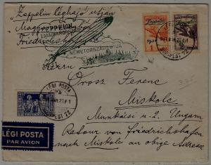 Hungary/Germany Zeppelin cover 27.3.31 Budapest