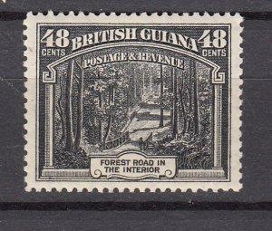J26586  jlstamps 1934  Br guiana  mh #217 forest road