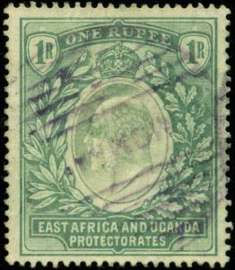 East Africa & Uganda Protectorates Scott #25 Used