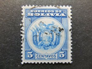 A4P31F67 Bolivia 1933 5c used