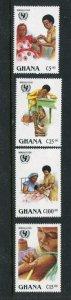 Ghana #1071-4 MNH