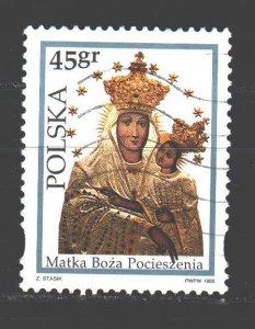 Poland. 1995. 3551. Madonna. USED.