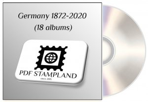 Germany 1872-2020 (18 albums) PDF STAMP ALBUM PAGES