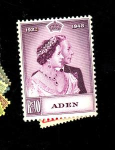 Aden #30-1 MINT VF OG LH Cat $38