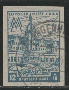 DDR under russian occupation Scott # 14NB14a, used, var. color
