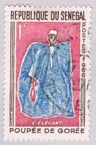 Senegal 261 Used Elegant Man 1966 (BP3003)