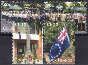 Cook Islands #1323-6  MNH   CV $6.00 (Z1428)