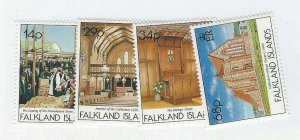 Falkland Islands  MNH sc  554-557