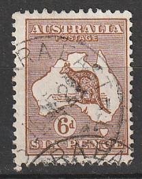 #96 Wml 203 Australia Used 6p Roo