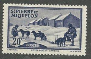 St. Pierre & Miquelon Scott 178  MNH