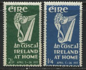 Ireland 1953 National Festival set of 2 mint o.g.