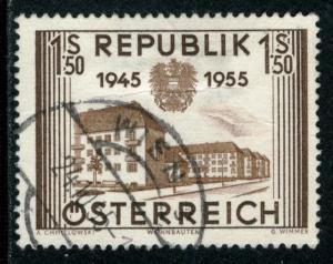 AUSTRIA - SC #602 - USED - 1955 - Item Austria327