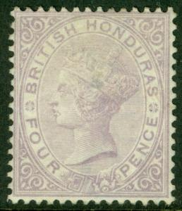 EDW1949SELL : BRITISH HONDURAS 1879 Scott #10 Mint, regummed. Catalog $275.00.