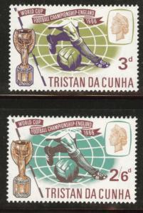 Tristan da Cunha Scott 93-4 MH* 1966 World Cup Soccer set