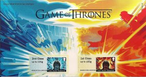 2018 Royal Mail Game of Thrones post & Go P&G 28 UNMOUNTED MINT