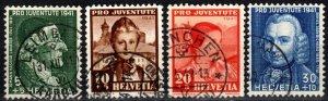 Switzerland #B112-5  F-VF Used CV $6.10  (X2582)