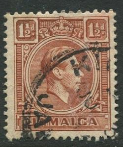 Jamaica -Scott 118 - KGVI Definitive -1938 - Used - Single 1.1/2p Stamp