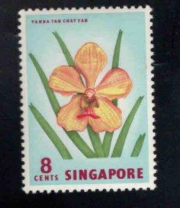 Singapore MNH** Flower stamp Scott 63