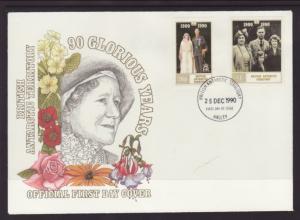 British Antarctic Territory 170-171 Queen Mother U/A FDC