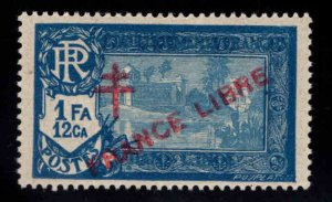 FRENCH INDIA  Scott 167  MH* France Libre  overprint