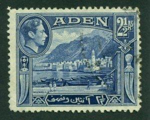 Aden 1939 #21 U SCV (2018)=$0.30