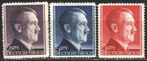 Third Reich. 1942. 800-2 from the series. Chancellor of Germany. MVLH.