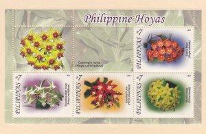Philippines: Sc #3352, MNH, S/S, Hoyas Flowers (S18915)