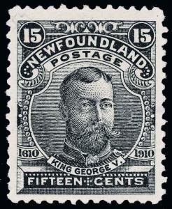 Canada / Newfoundland Scott 87-97 Gibbons 95-105 Mint Set of Stamps