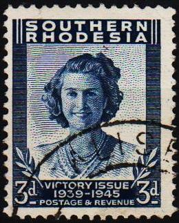 Southern Rhodesia. 1947 3d S.G.66 Fine Used