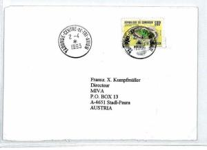 CM183 1993 *CAMEROON* Air Mail MIVA Missionary Cover