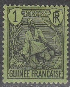 French Guinea #18 F-VF Unused