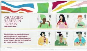 Great Britain: 2005, Changing Tastes in Britain Presentation Pack 374