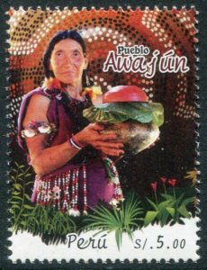 HERRICKSTAMP NEW ISSUES PERU Sc.# 1930 Awajun Village