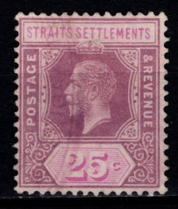 Straits Settlements 1912 George V Definitive, 25c [Used]
