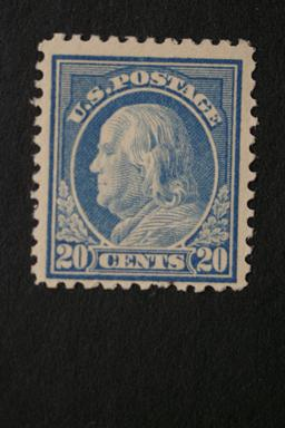 United States #515 20 Cent Franklin 1917 MNH