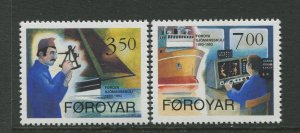 STAMP STATION PERTH Faroe Is.#268-269 Pictorial Definitive Iss.MNH 1994 CV$4.00