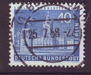J24346 JLstamps 1956-63 germany occupation berlin used #9n131 charlottenburg