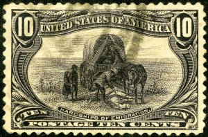 US Stamps # 290 Used XF