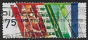Netherlands # 740 - Privatization Dutch Post - used....(P24)