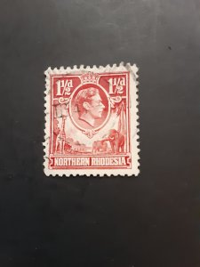 *Northern Rhodesia #29                   Used