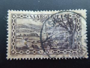 Germany  Saargebiet 1926  Sc.# 128