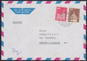SWITZERLAND TO HONG KONG 1970 airmail cover ................................4398