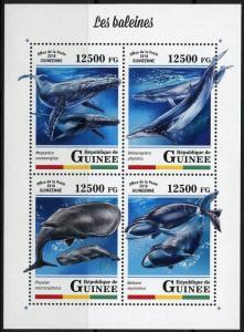 GUINEA 2018  WHALES SHEET MINT  NH